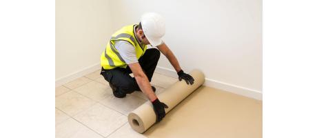 Eco-Friendly Cardboard Floor Protection Rolls