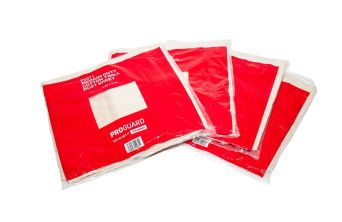 Proguard Polythene Backed Cotton Twill Dust Sheet