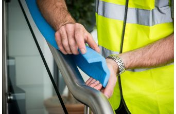 Proguard Foam Hand Rail Protector Blue