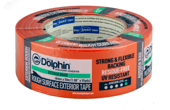 Exterior Grade Orange Cloth Tape